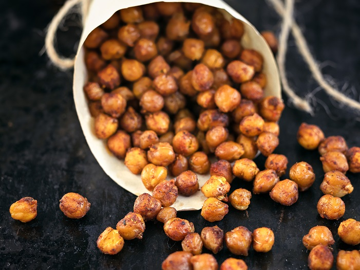 Plant-Based Chickpeas Popcorn Snack