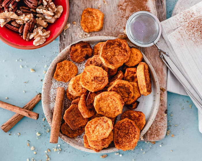Cinnamon Sweet Potatoes Baked