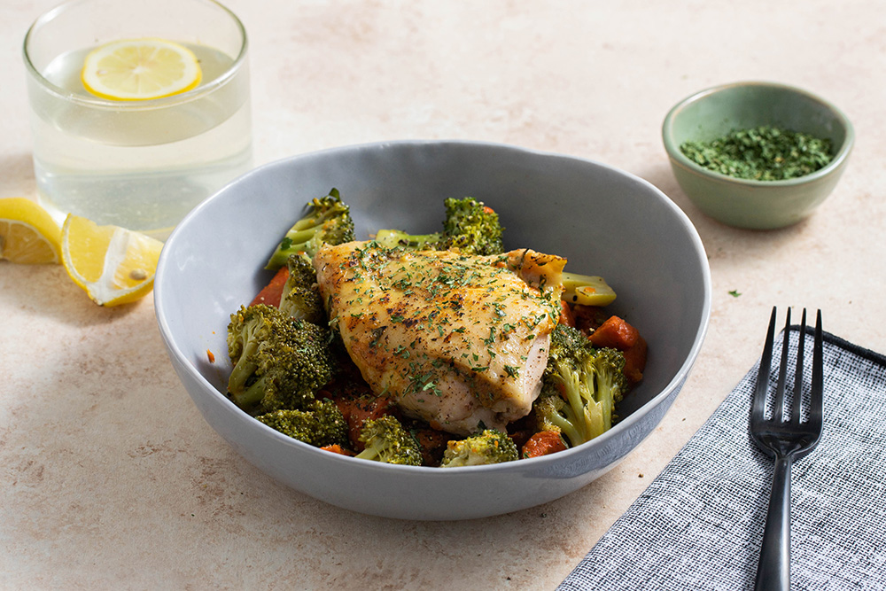 Paprika Chicken With Broccoli