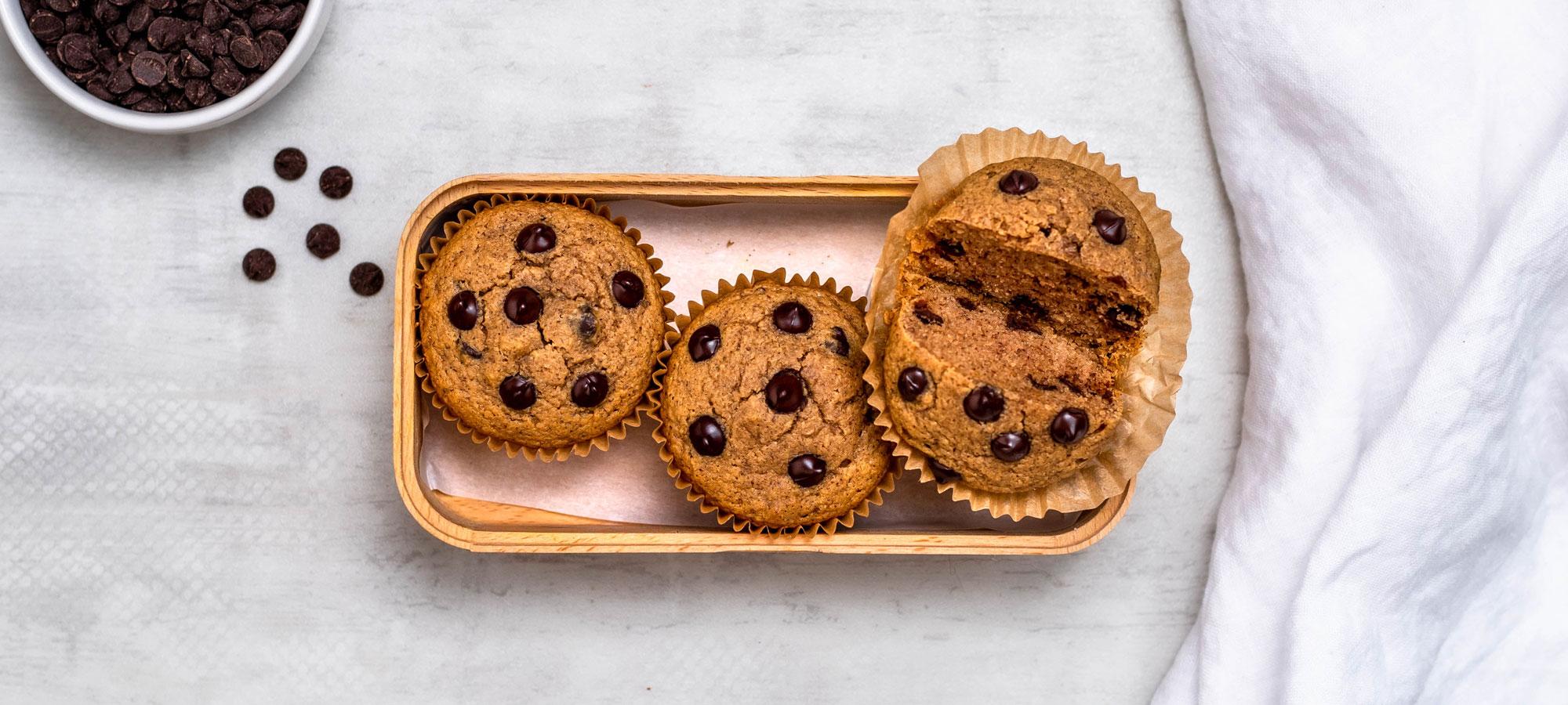 Keto almond butter muffin recipe