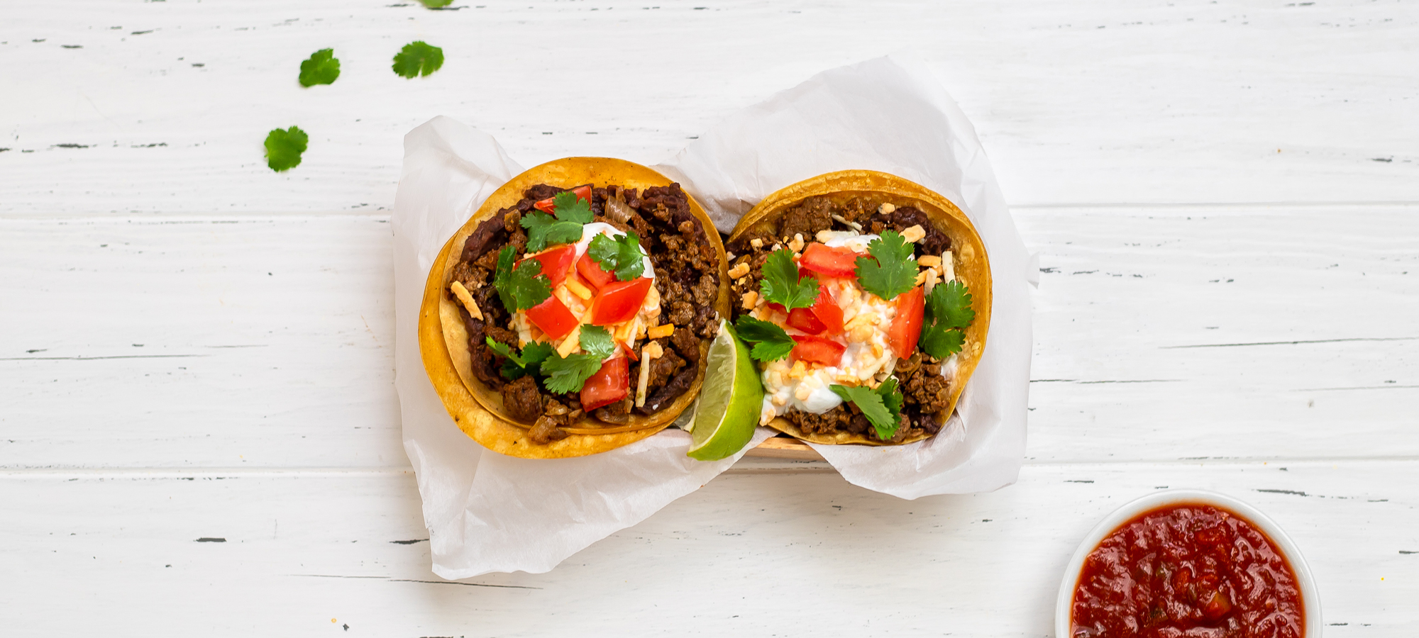 Vegan Impossible beef tacos