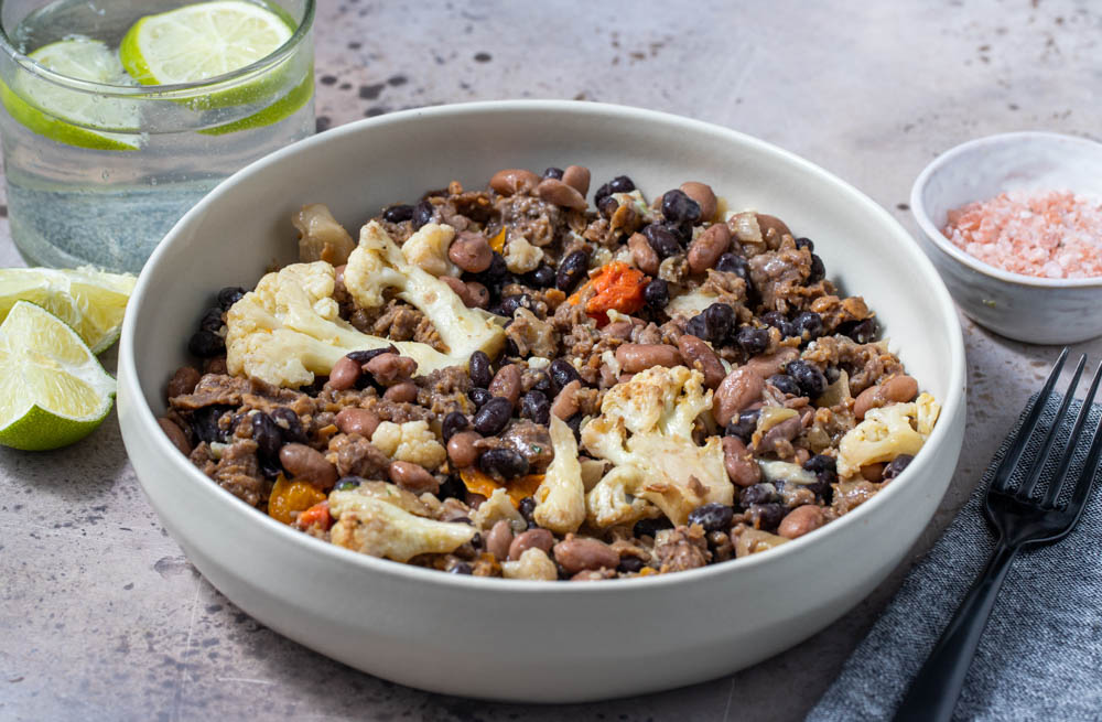 Southwest Chili With Roasted Cauliflower And Beyond Beef® Crumbles