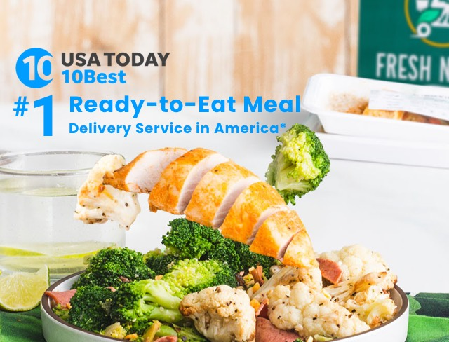Fresh n' Lean Stands Apart – Company Named No. 4 on the USA Today 10Best List for Meal Delivery Services and Meal Kits